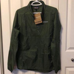 ⭐️Men's Patagonia Houdini Pullover Buffalo Green S